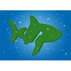 4er Pack Marker Hai