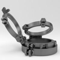 Dual Flip Diopter Halterung für 10Bar