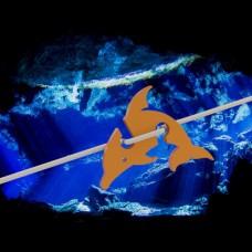 4er Pack Marker Delfin